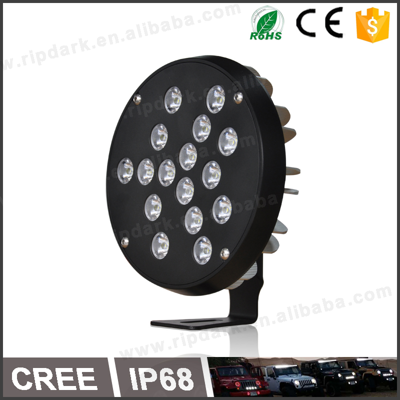 Auto spare parts new technology 90w led work light IP68 led auto work light automotive work light LED with CNC machine made