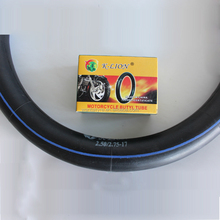 size 275-17 inner tube for motorcycle tire