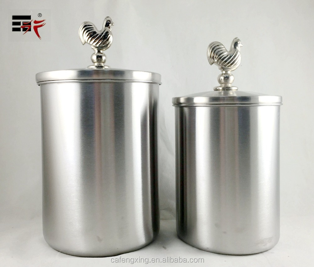 Yellow Kitchen Canister Set Stainless Steel Canister Stainless Steel Canister Suppliers And