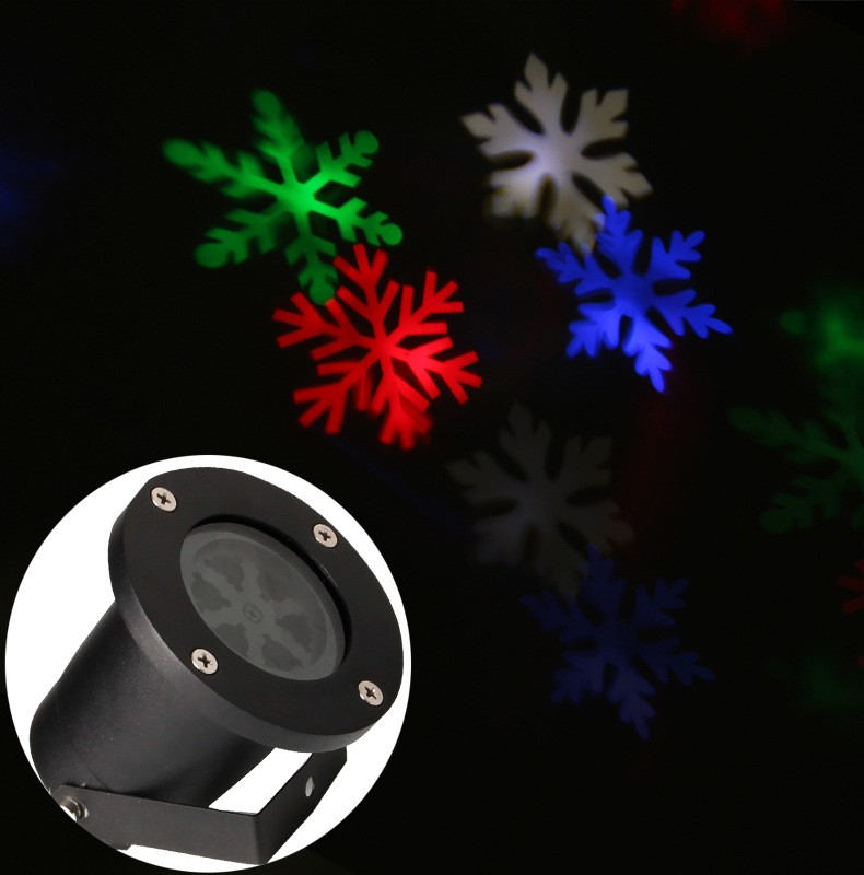 dj quipement led de no l projecteur lumi re holographique projecteur laser de no l en plein air. Black Bedroom Furniture Sets. Home Design Ideas