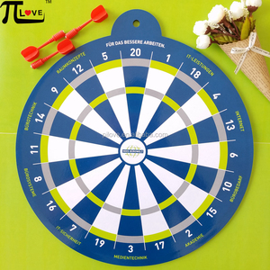 Hot Promotional Gifts EVA material 35CM magnetic safety dartboard with 3pcs magnet darts