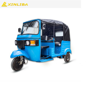 piaggio ape indian bajaj taxi gasoline passenger tricycle