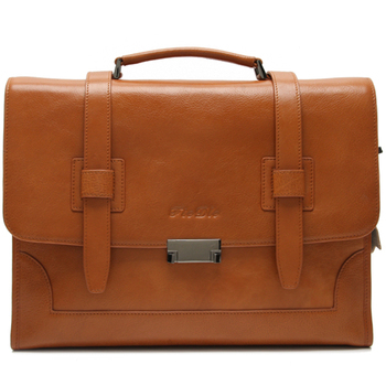 Switzerland Famous Brand Bags Leather Messenger Bag Men Briefcase