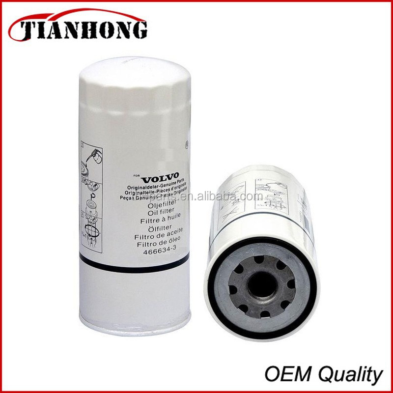 VOLVO oil filter 466634 for VOLVO TRUCK FL10
