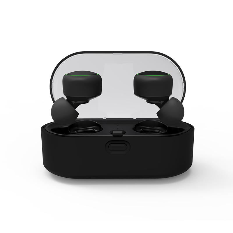 TWS T02 5.0Wireless bt Headset Stereo Earphones Real Wireless Mini Sports headphones