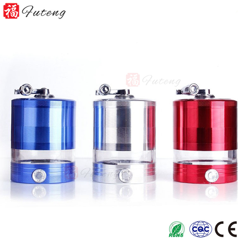 Wholesale Best Tobacco Herb Grinder Electric Power with Mill Handle