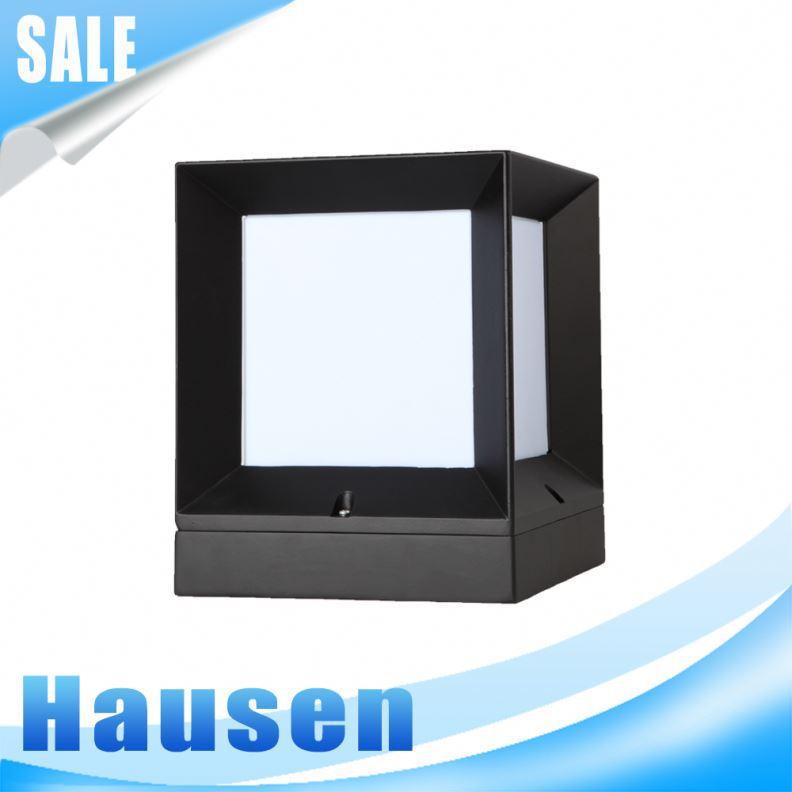Gros moderne style tanche cube pilier d coratif clairage for Eclairage exterieur moderne