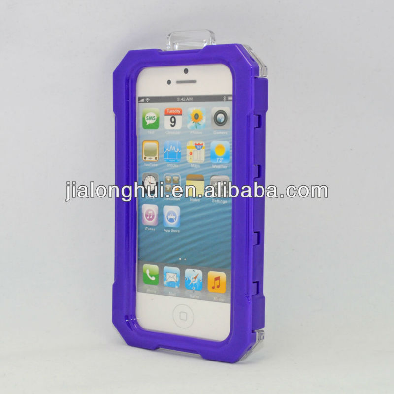 Newly Designed High Quality waterproofing protection board Case/Cover For Iphone Iphone5
