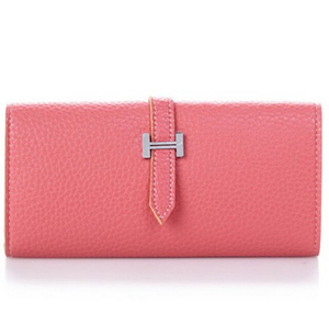 Ladies Beautiful Foldable Pocket Wallet With Metal H Buckle and Cheap Price From China Alibaba Suppliers