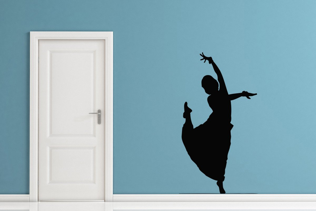Buy Usa Decals4you Dance Wall Decals Silhouette Dance Girl Decor Vinyl Stickers Mk0495 In Cheap Price On Alibaba Com