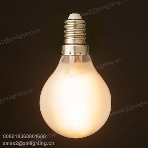 OEM wholesale 110v 220v dimmable e12 e14 globe bulb led vintage g45 frost