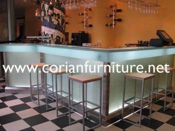 Modern Design Led Lighted Restaurant Bar Counter - Buy Commercial ...