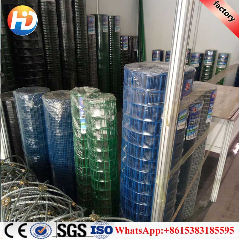 Alibaba supplier green vinyl coated welded wire mesh fence / fence 3d models