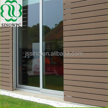 Wpc Siding For Concrete Wall Cover/wood Plastic Composite Wall Cladding/exterior  Wall Cladding