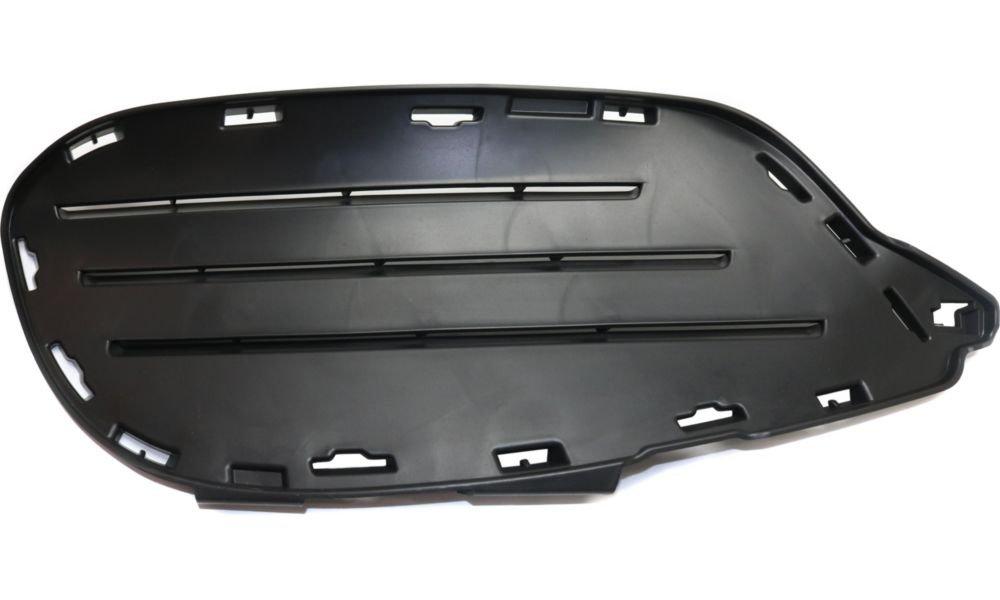 Evan-Fischer EVA177062216221 Bumper Grille for 2014 Mercedes Benz E350 Plastic Primed Left Side 2-Door Convertible Replaces Partslink# MB1038170