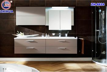Francese mobili verniciato bianco spagnolo mobili da bagno armadio