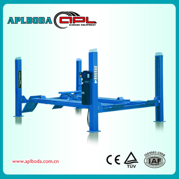 4 Post Lift Mobile And Launch Wheel Alignment 4 Post Car