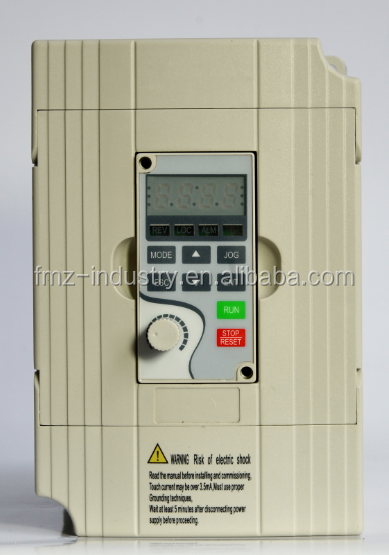 QD100 Series 220V 0.75kw/1.5kw/2.2kw Single phase ac drive to replace Delta M series VFD