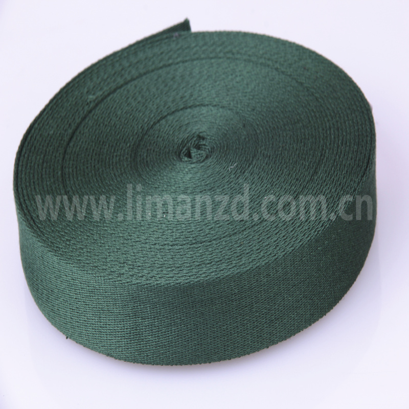 3.2 cm wide cotton webbing twill cotton tape 1.7mm thick