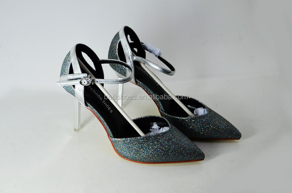 2015 women party platform high heel ladies club pumps with special material