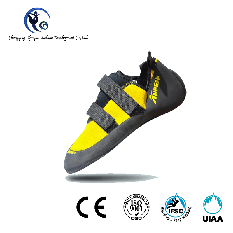 Factory Price Comfy Genuine Leather Rock Climbing Shoes