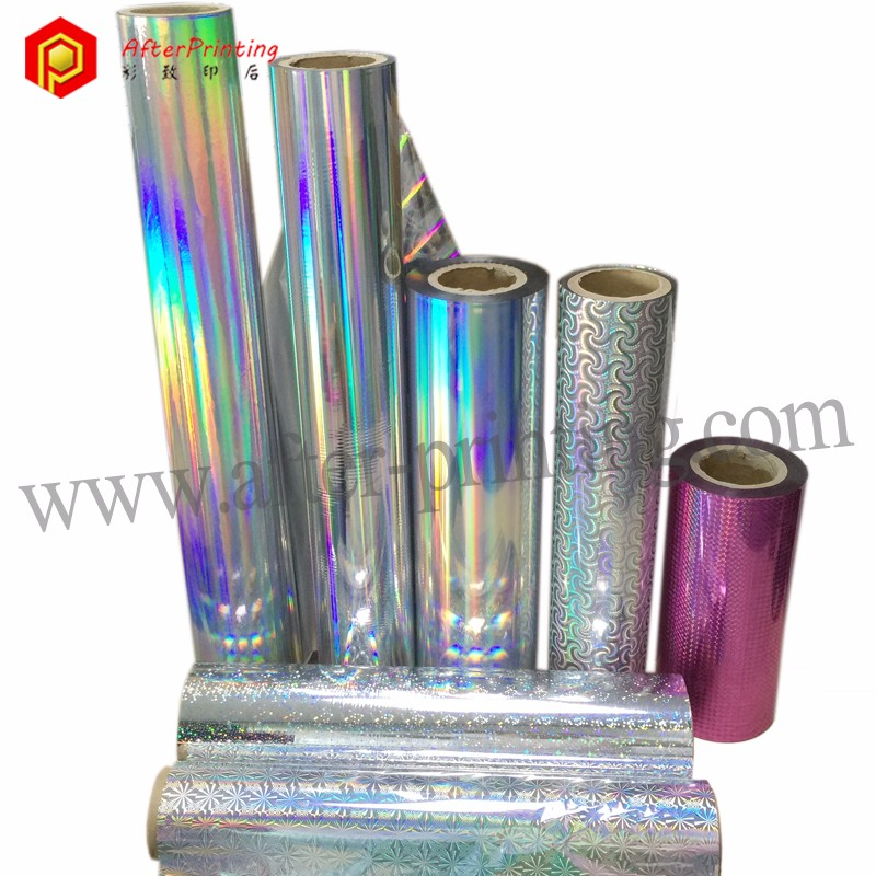 Holographic Plastic Polyester Sheet 26micron