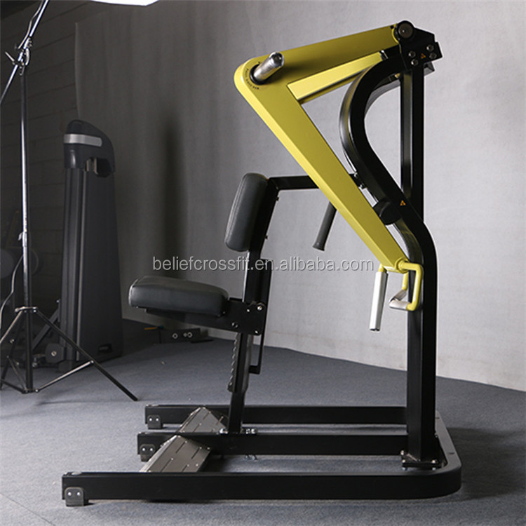 Gym equipment commercial machine hammer strength rowing machine