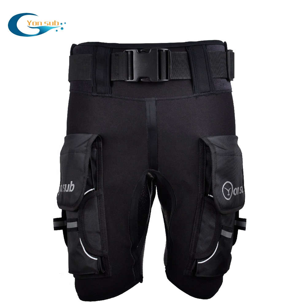 3 mm Thickness Neoprene Flexible Technical Short Diving Pants for sale