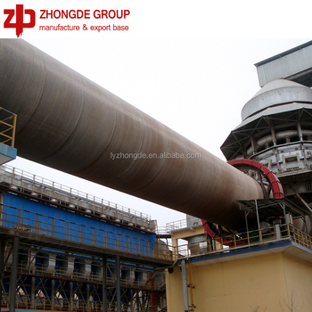 reliable quality 3.2*52m building material rotary kiln for sale with ISO in active carclazyte and kaoline cement clinker