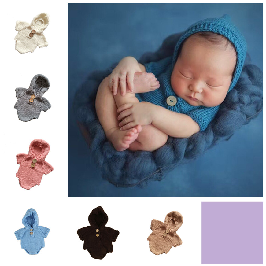Neonatal hand-woven sweaters Chinese supplier manual knitting baby supplies wholesale children's wear lovely photography