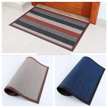 Pvc Coil Mat Pav Anti Slip Woven Vinyl Mat Factory Price Custom ...