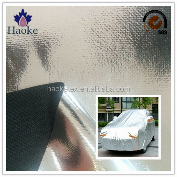 aluminum foil woven fabric for car body cover