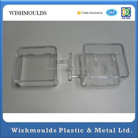 2015 china OEM clear plastic injection molding PC/Acrylic transparent plastic box mold