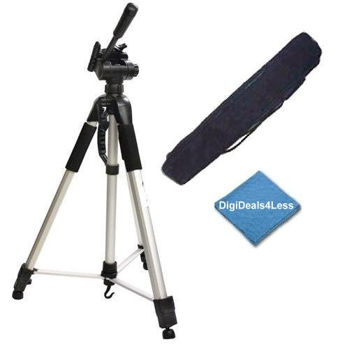 T3 XT, 60D 7D Xsi T2i 6D T5i T1i SL1 Heavy Duty Portable Tripod Dolly for Canon EOS 5D Mark III T6 T6s T6i 5D Mark II XS T4i T5 7D Mark II 70D T3i Professional 72-inch 3-way Panhead Tilt Motion with Two Built In Bubble Leveling Tripod