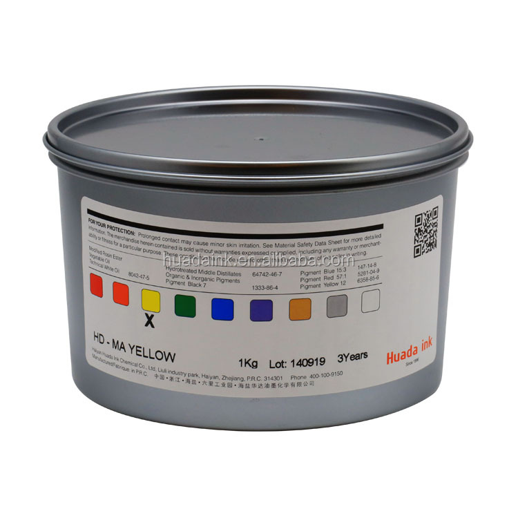 High and stable quality HD-G series sheetfed offset printing ink for printer