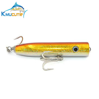 Freshwater Or Saltwater Tuna Lure 120mm 40g Wood Popper Fishing Bait Hard  Fishing Tackle - Buy Wooden Fishing Lure,Hard Body Bait Fishing  Lures,Popper