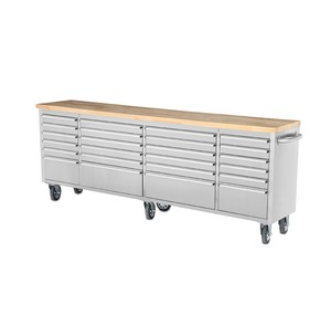"Hyxion tool chest 96""24 drawer&cabinet rolling hz kraft trolley hand tool sets"