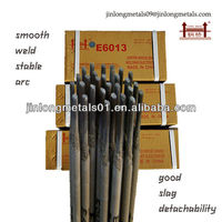 Kinds of 2.5 3.2 4.0 mm AWS E6013 CE approval best arc welding electrodes