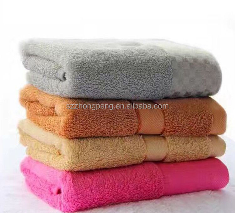 Wholesale customized superfine soft peri bath towel