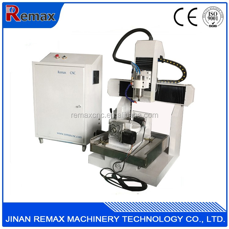 High Accuracy Remax 3040 5 Axis Wood Cnc Router For Shoe Mold Applicable To Aluminum Acrylic Foam