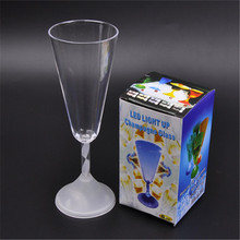 Plastic 300ml hall modern party led cocktail glass