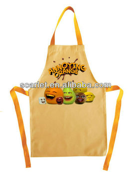 funny cartoon character apron for cooking gardening. Interior Design Ideas. Home Design Ideas