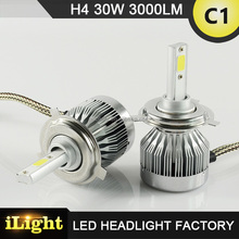 Ip67 Waterproof H4 Led Headlight For W124