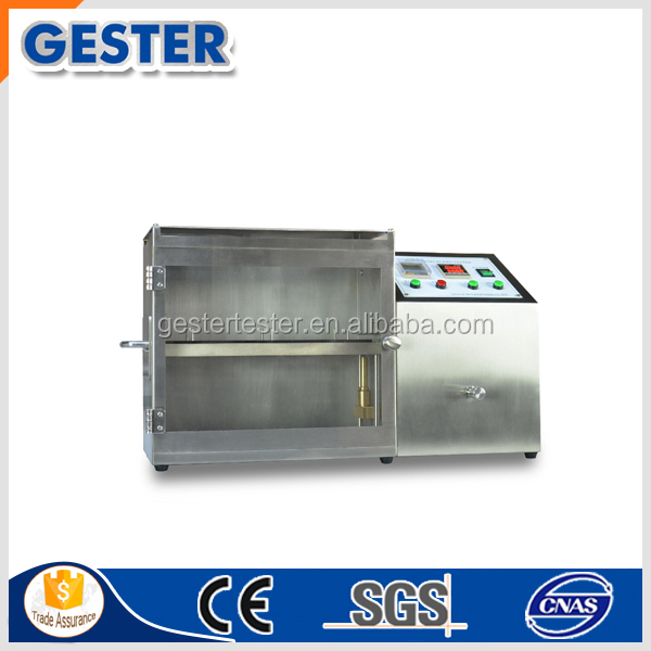 ISO 3795 Horizontal Flame Testing Chamber for Burning Rate