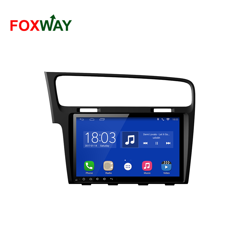 4G LTE Android car dvd player for VW Golf 7