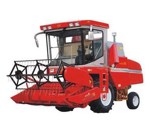 propelled cereal corn wheat barley oat rice paddy maize seed reap harvest combine harvester
