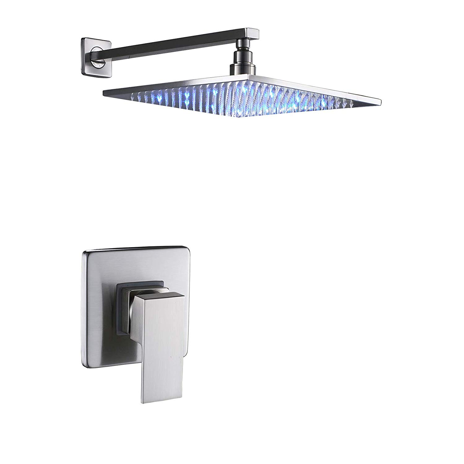 Buy Rozin Brushed Nickel 12 Inch Shower Faucet Extension Tube Bar