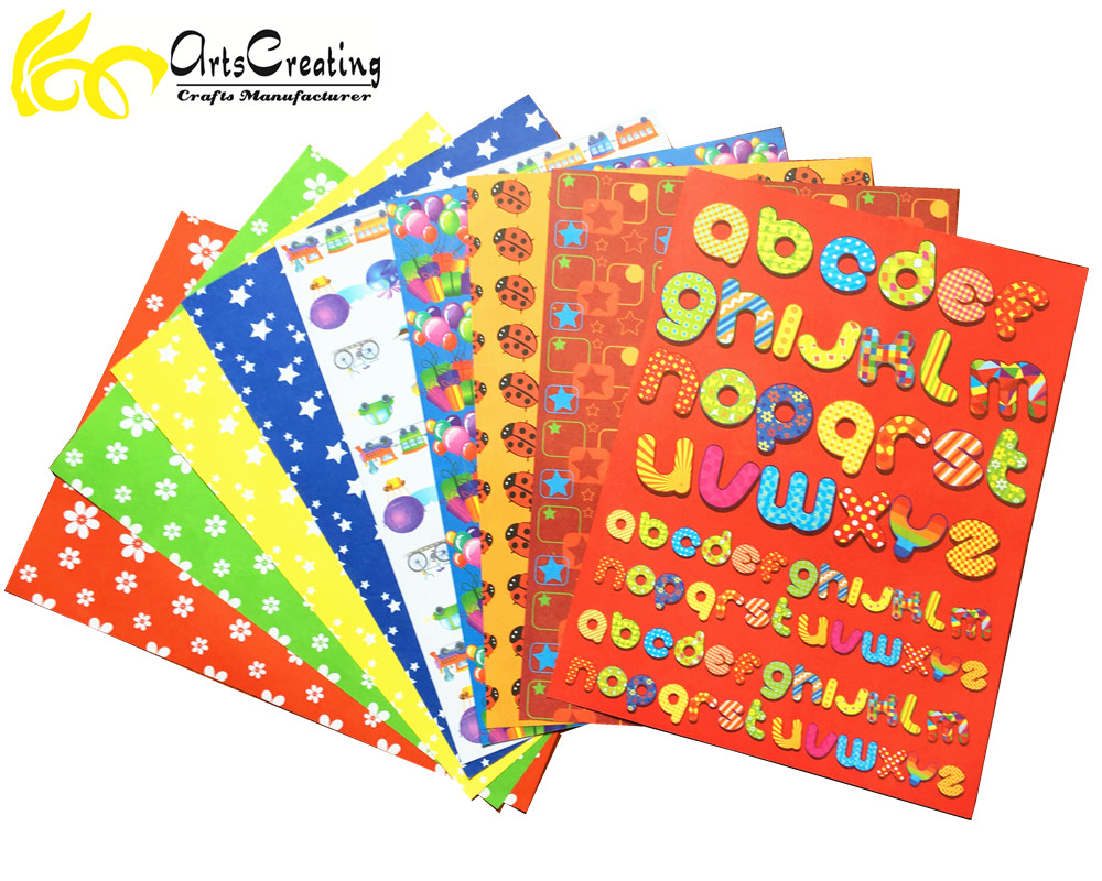 Papel do scrapbook atacado DIY impressos personalizados de papel scrapbooking