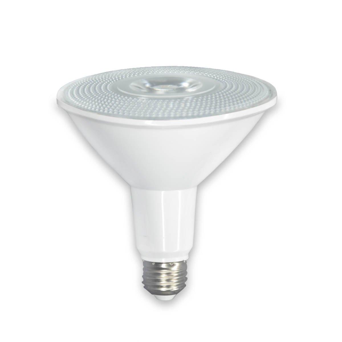30W PAR38 LED Spot Light Bulb, IP65 Both Outdoor and Iutdoor Use,200W about Equivalent, 2500lm, 3000K White, 40 Degree Beam Angle, Medium Base(E26), tight beam angel Led Flood Light Bulb