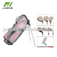 Customized brand right handed lady pink forged golf club set for women